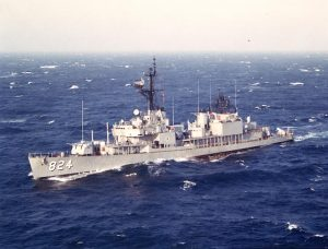 USS Basilone ©Wikimedia Commons by Tony Cowart