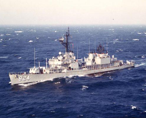 USS Basilone ©Wikimedia Commons by Tony Cowart